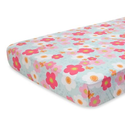 Nurture Imagination Wings Fitted Crib Sheet
