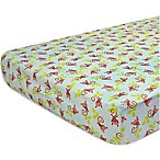 Nurture Imagination Swing Fitted Crib Sheet