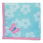 Nurture Imagination Wings Printed Blanket with Butterfly Applique