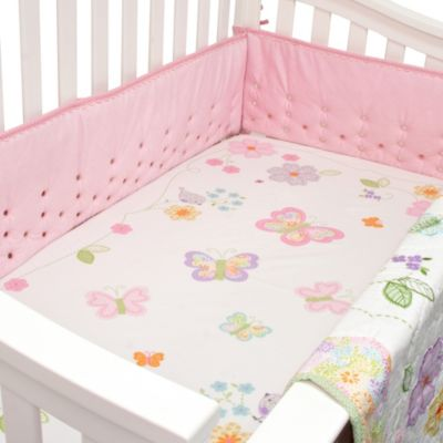 Nurture Imagination™ Mix & Match Butterfly Garden Fitted Crib Sheet