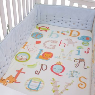 Baby Bedding > Nurture Imagination™ Mix & Match My ABCs Fitted Crib Sheet