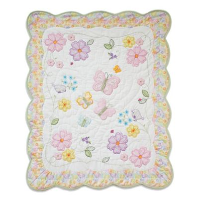 Nurture Imagination™ Mix & Match Butterfly Garden Quilt