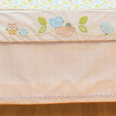 Nurture Imagination™ Mix & Match Box Pleat Twill Crib Skirt in Tan