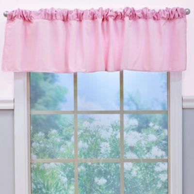 Nurture Imagination™ Mix & Match Velour Window Valance in Pink