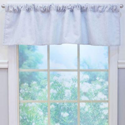 Nurture Imagination™ Mix & Match Grey Chevron Window Valance