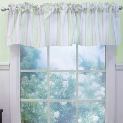 Nurture Imagination™ Mix & Match Striped Window Valance in Neutral