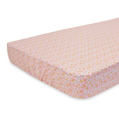 Nurture Imagination™ Mix & Match Ditsy Floral Fitted Crib Sheet