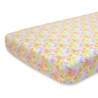 Nurture Imagination™ Mix & Match Crazy Daisy Fitted Crib Sheet
