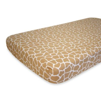 Nurture Imagination™ Mix & Match Giraffe Fitted Crib Sheet