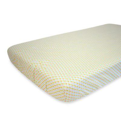 Nurture Imagination™ Mix & Match Mini Multi Dot Fitted Crib Sheet