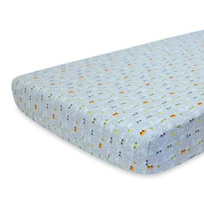 Nurture Imagination™ Mix & Match Cityscape Fitted Crib Sheet