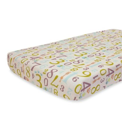 Nurture Imagination™ Mix & Match Counting Fitted Crib Sheet