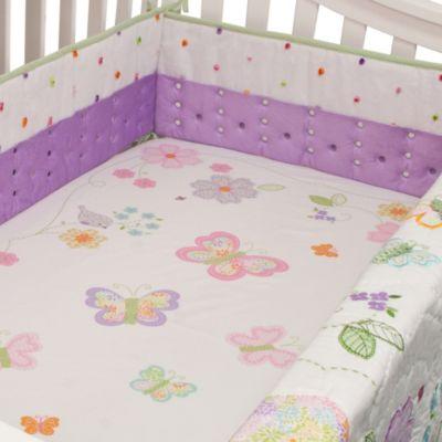 Nurture Imagination™ Mix & Match Airflow 4-Piece Cut Dot Crib Bumper in Lilac