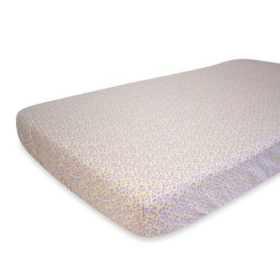 Nurture Imagination™ Mix & Match Lilac Berry Fitted Crib Sheet