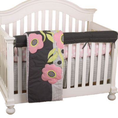 Cotton Tale Designs Poppy Front Cover Up Crib Bedding Set