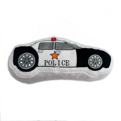 One Grace Place Teyo's Tires Decorative Police Car Pillow