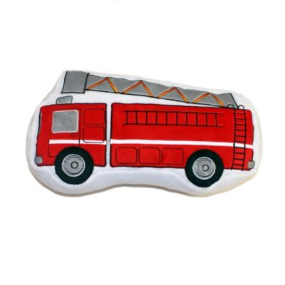 Teyos Tires Fire Truck Pillow
