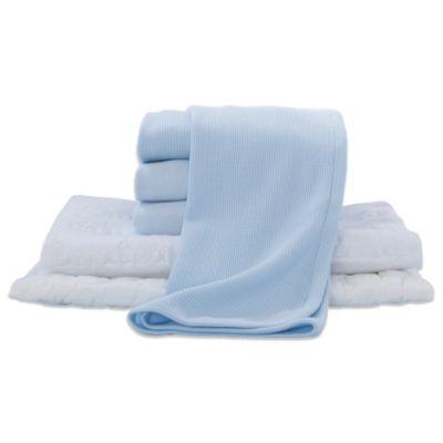 6-Piece Crib Starter Kit in Blue
