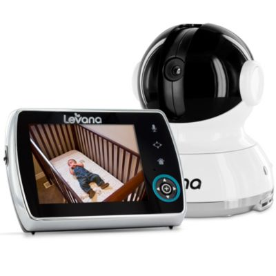 Levana® Keera™ 3.5-Inch Pan/Tilt/Zoom Digital Baby Video Monitor