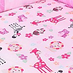 Lambs & Ivy® Jelly Bean Jungle Fitted Crib Sheet