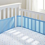 BreathableBaby® Mesh Crib Liner in Blue Mist