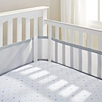 BreathableBaby® Mix & Match Breathable Mesh Crib Liner in Grey Mist
