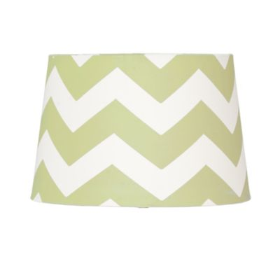 Lolli Living™ by Living Textiles Mix & Match Zigzag Lamp Shade in Green