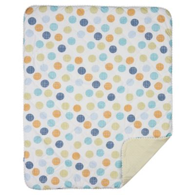 Lolli Living® Baby Bot Reversible Quilted Comforter in Bot Dot