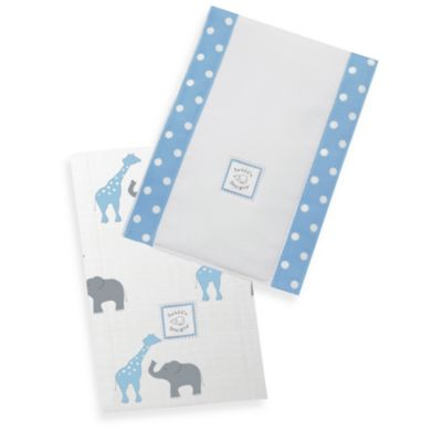 Blue Baby Feeding Accessories