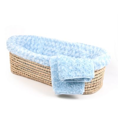Blue Blanket Basket