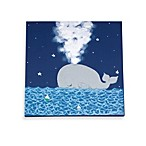Wendy Bellissimo™ Whale and Stars Canvas Wall Art