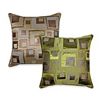Stacked Squares Toss Pillow