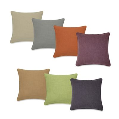 Contemporary Loft Square Toss Pillow