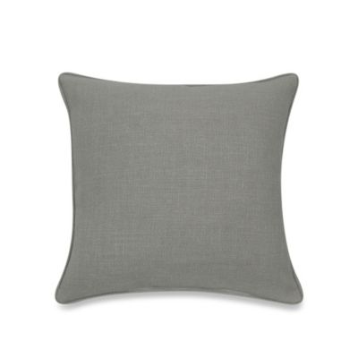 Contemporary Loft Square Throw Pillow in Grey