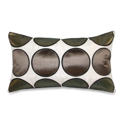 Metallic Dot Square Throw Pillow