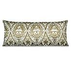 Oblong Toss Pillow in Gold