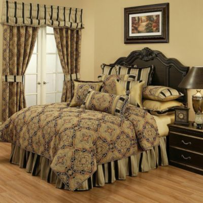 Austin Horn Classics Ravel 4-Piece King Comforter Set