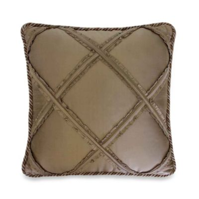 Austin Horn Classics Tuscany Diamond Silk Square Toss Pillow