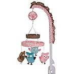 Bananafish® Calico Owls Musical Mobile