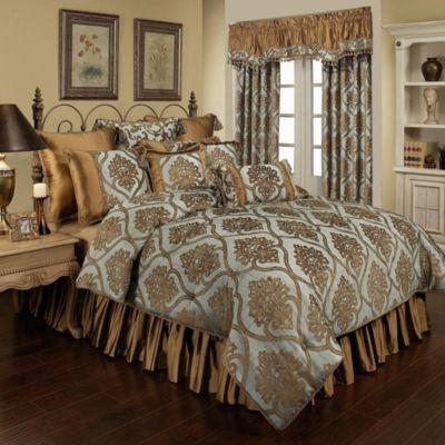 Austin Horn Classics Miraloma 4-Piece King Comforter Set