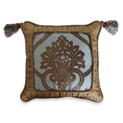 18 Aqua Square Pillow