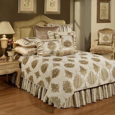 Gold Silk Pillow Shams