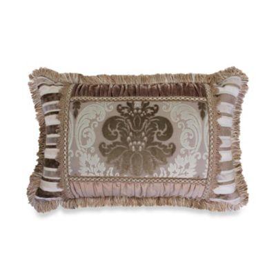 Austin Horn Classics Minuet Fringed Boudoir Pillow