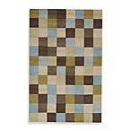 Rugs America Color Block Sky Rug