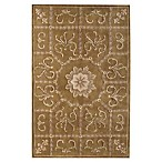 Rugs America Flora Rug in Butternut Brown