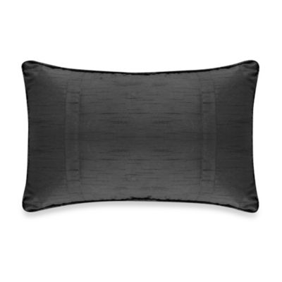 Veratex Diamonte Boudoir Pillow in Black