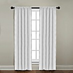 CityLinen Linen Rod Pocket Window Curtain Panels and Valances