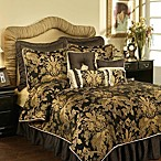 Austin Horn Classics Verona European Pillow Sham in Black