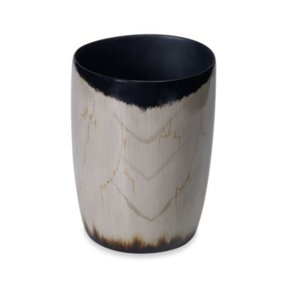 Kenneth Cole Reaction® Home Petrified Wood Waste Basket