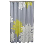 Blissliving® Ashley Citron Cotton 72-Inch x 72-Inch Shower Curtain